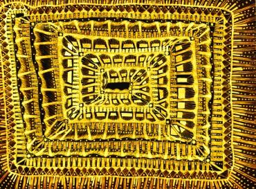 goldener Teppich